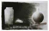Study of a vase and jug by Stephen Baker, Drawing, Charcoal on Paper