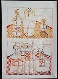 Two still Life Sketches by Stephen Baker, Drawing, Pen on Paper